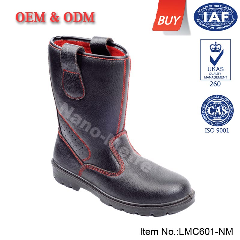 NMSAFETY botas de seguridad de alta china LMC601-NM